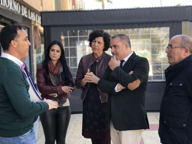 La Comunidad y el Ayuntamiento muestran su apoyo al comercio lumbrerense - 2, Foto 2