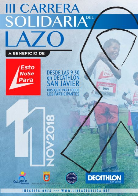 La Carrera Solidaria del Lazo celebra su III edición el domingo 11 de noviembre - 1, Foto 1