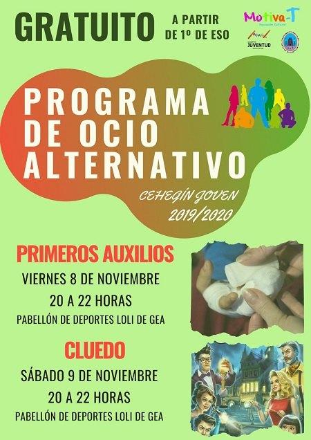 Juventud oferta para este fin de semana dos nuevos talleres en su Programa de Ocio Alternativo - 1, Foto 1