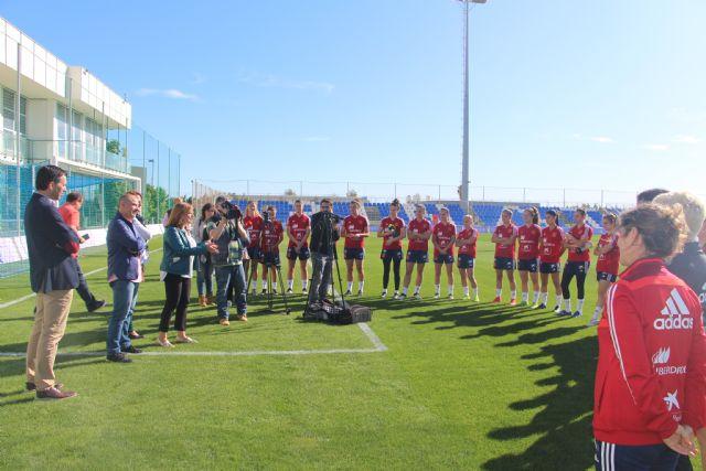 La selección española sub20 femenina se enfrenta a Francia y Rusia durante su estancia en San Pedro del Pinatar - 2, Foto 2