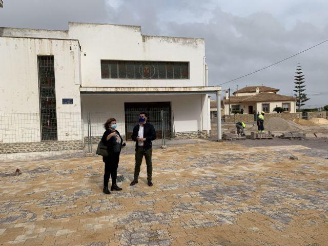 La nueva plaza de Pozo Aledo estará finalizada en un mes - 2, Foto 2