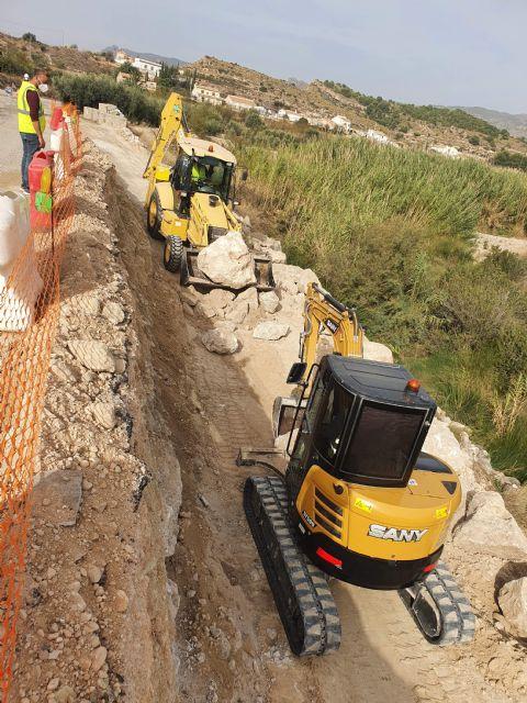 La Comunidad trabaja en mejorar la seguridad vial dos carreteras regionales, que discurren por Fortuna,dañadas por la dana - 1, Foto 1