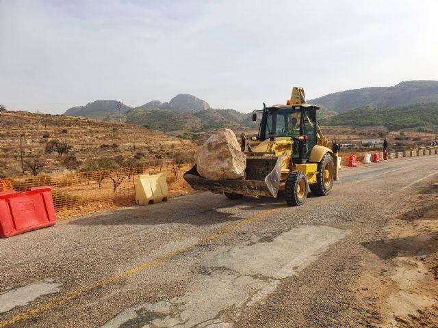 La Comunidad trabaja en mejorar la seguridad vial dos carreteras regionales, que discurren por Fortuna,dañadas por la dana - 2, Foto 2