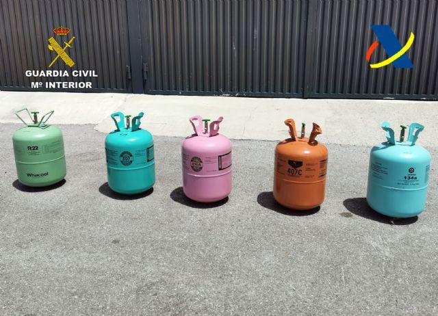 Desmantelada una organización criminal dedicada al tráfico ilegal de gases fluorados - 5, Foto 5