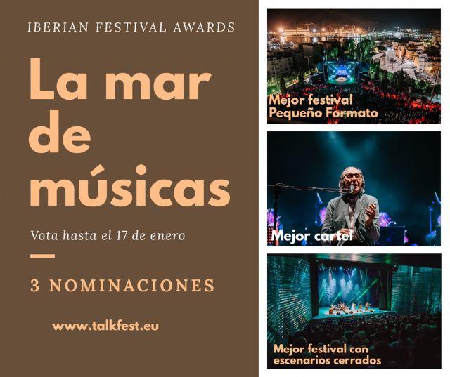 La Mar de Músicas candidata a tres categorías en los Iberian Festival Awards que premia a los festivales de España y Portugal, Foto 2