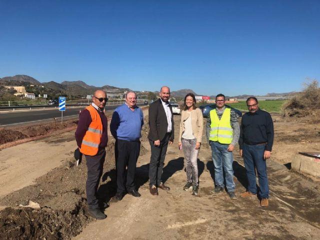 Fomento mejora la seguridad y drenaje de la carretera que une Águilas y Lorca, Foto 1