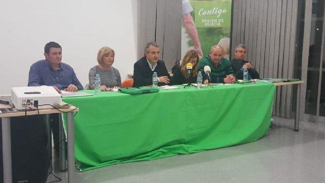 Presentación del partido Contigo Somos Democracia Región de Murcia en Totana, Foto 1