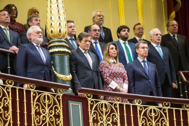 López Miras: Defender la Constitución es respaldar y proteger la igualdad de todos en derechos y oportunidades - 2, Foto 2