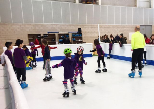 Las Torres de Cotillas se lanza a patinar sobre hielo este puente de diciembre - 1, Foto 1