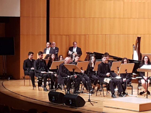 El auditorio Víctor Villegas de Murcia acoge el primero de los dos conciertos de la Banda Sinfónica de la Federación de Bandas de la Región de Murcia, solidarios con las enfermedades raras - 4, Foto 4
