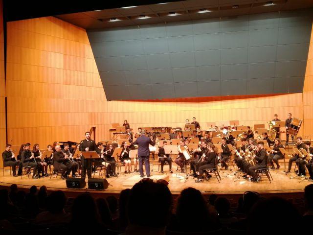El auditorio Víctor Villegas de Murcia acoge el primero de los dos conciertos de la Banda Sinfónica de la Federación de Bandas de la Región de Murcia, solidarios con las enfermedades raras - 5, Foto 5