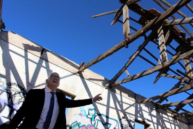 Cs exigirá en el próximo Pleno que se valle el perímetro de la antigua depuradora de Barrio Peral para evitar accidentes - 1, Foto 1