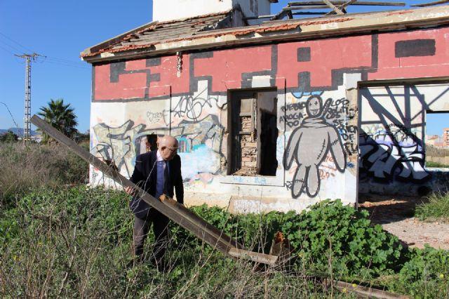 Cs exigirá en el próximo Pleno que se valle el perímetro de la antigua depuradora de Barrio Peral para evitar accidentes - 3, Foto 3