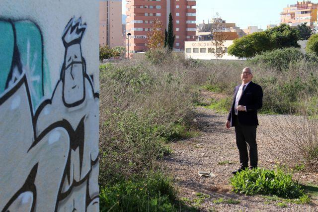 Cs exigirá en el próximo Pleno que se valle el perímetro de la antigua depuradora de Barrio Peral para evitar accidentes - 4, Foto 4