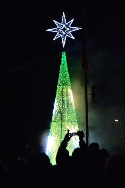 Las Torres de Cotillas ya se muestra de lo más navideña con sus luces y su gran árbol - 3, Foto 3