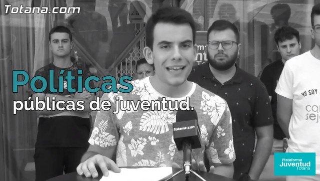 La Plataforma de Juventud de Totana lanza un v�deo con motivo del D�a de la Constituci�n, recordando el art�culo 48, Foto 1