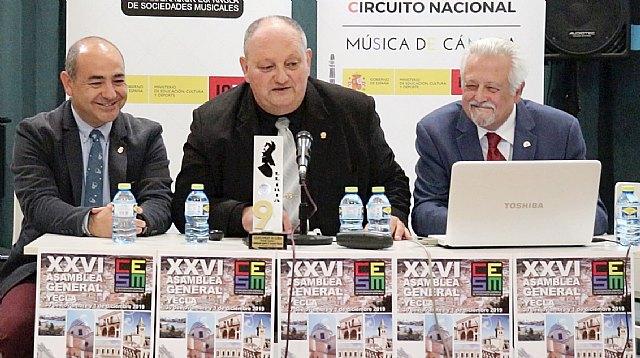 La Confederación Española lanzará un curso de experto en gestión de sociedades musicales y un plan de formación - 1, Foto 1