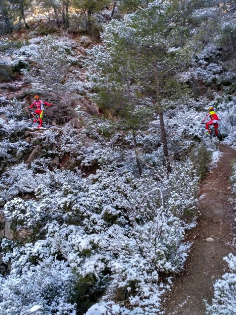 The first snow falls this year in Sierra Espuña - 3