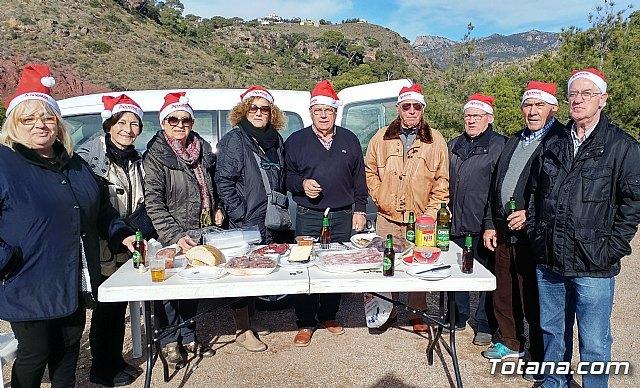 Algunos totaneros subieron hoy 7 de enero a La Santa, reivindicando que se mantenga esta fecha para la romería de subida, Foto 2