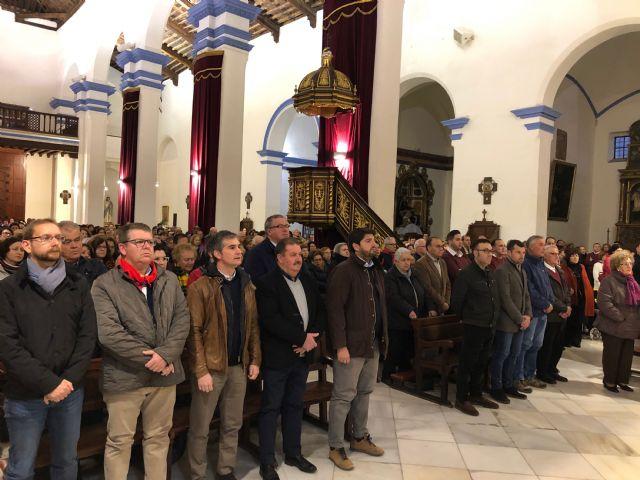 López Miras asiste a la romería de Santa Eulalia en Totana