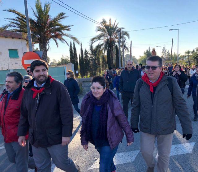 López Miras asiste a la romería de Santa Eulalia en Totana, Foto 3