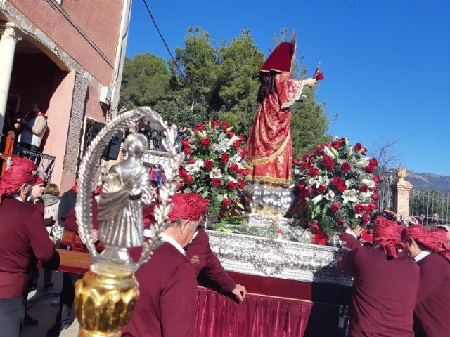 About 10,000 people participate in the pilgrimage day of Santa Eulalia de Mérida, Patroness of Totana, who returns to her sanctuary in Sierra Espuña, Foto 2