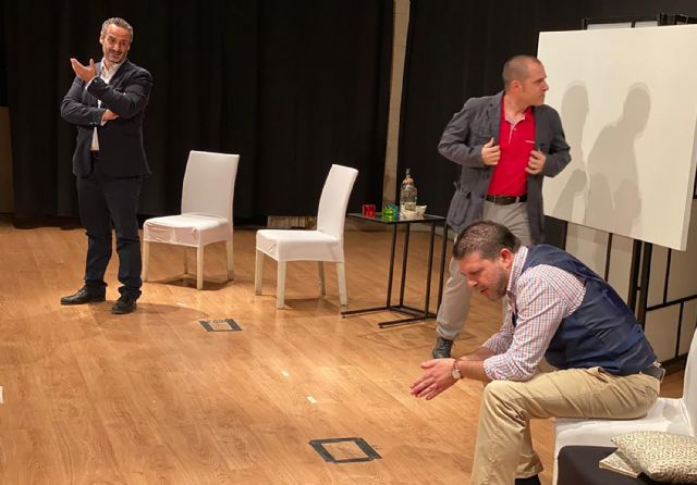 El Tejuba triunfa con su último montaje, la comedia Art - 3, Foto 3