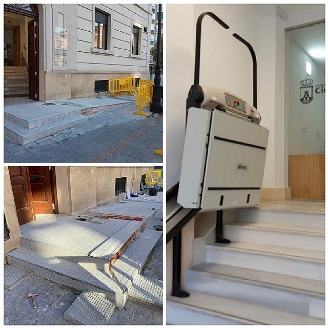 Saorín: Hemos mejorado la accesibilidad en el antiguo edificio de los Juzgados - 1, Foto 1