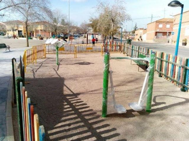 El recinto ferial contará con un parque saludable, con varios elementos para la actividad física, Foto 1