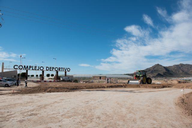 Las obras de la rotonda de acceso al Complejo Deportivo finalizarán antes de Semana Santa, Foto 1