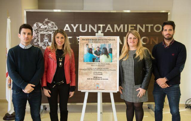 Los docentes jubilados de Mazarrón recibirán un homenaje tras una conferencia de César Bona, Foto 1