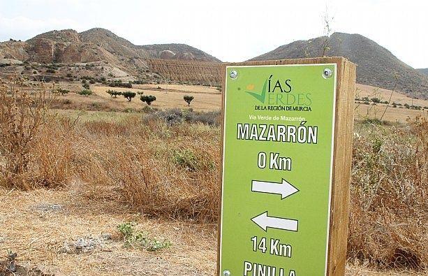 El Consorcio de las Vías Verdes de la Región de Murcia trabaja en la elaboración de una ordenanza sobre uso y funcionamiento de estas infraestructuras, que afecta a la Vía Cartagena-Totana, Foto 3