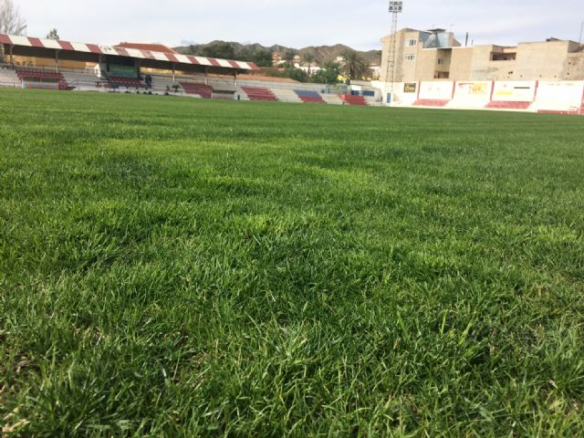 "The Olympian will be able to make use of the football stadium of the municipal stadium ""Juan Cayuela"" in his next league match, in two weeks - 1"