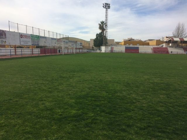 "The Olympian will be able to make use of the football stadium of the municipal stadium ""Juan Cayuela"" in his next league match, in two weeks - 2"