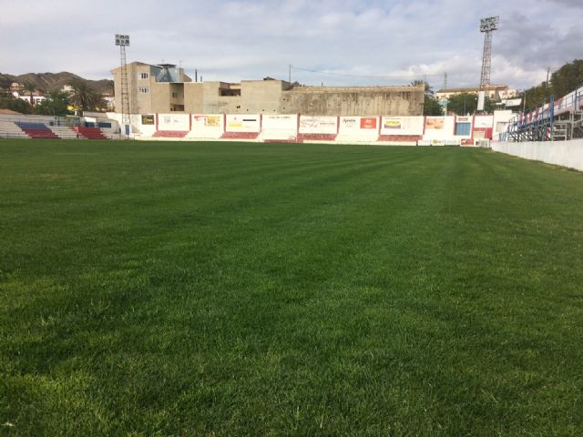 "The Olympian will be able to make use of the football stadium of the municipal stadium ""Juan Cayuela"" in his next league match, in two weeks - 3"
