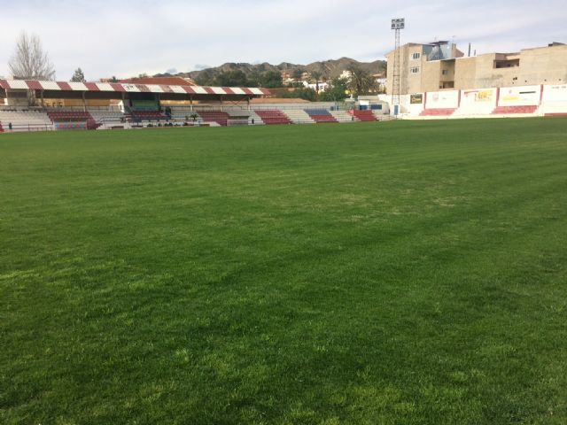 "The Olympian will be able to make use of the football stadium of the municipal stadium ""Juan Cayuela"" in his next league match, in two weeks - 4"