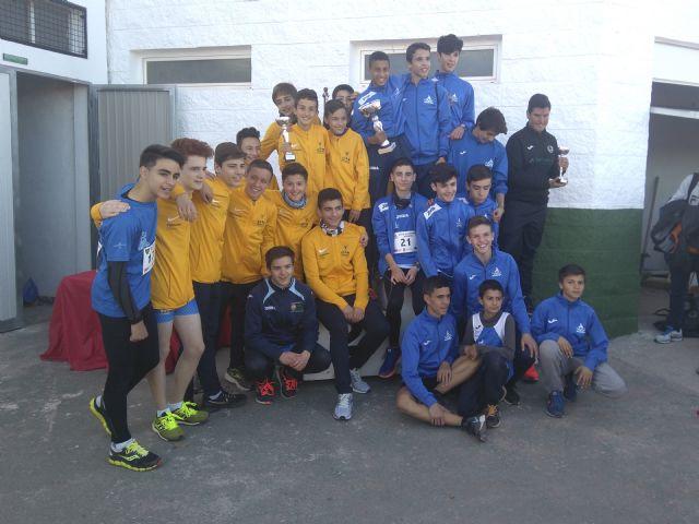 Doblete del Club Atletismo Alhama en el
