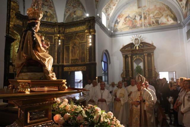 El Obispo de Cartagena concede un Tiempo Jubilar para la Virgen de las Huertas de Lorca - 1, Foto 1