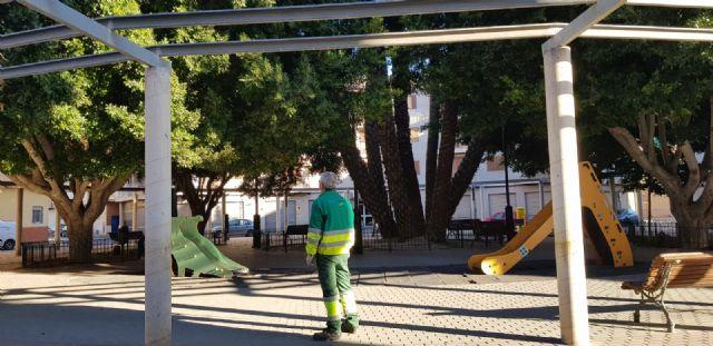 Sermubeniel y el Ayuntamiento de Beniel inician una campaña de mantenimiento de los Ficus del municipio - 2, Foto 2