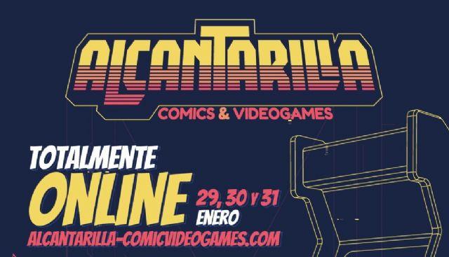 El encuentro digital `Alcantarilla Comics and Videogames´ recibe más de 6000 visualizaciones en un fin de semana - 1, Foto 1