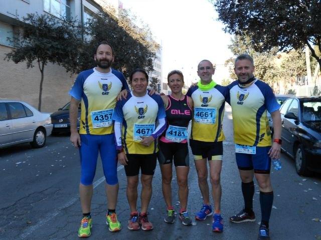 Participación del Club Atletismo de Totana en la Media Maratón de Cartagena, Foto 1