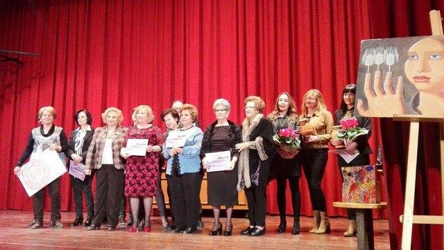 Mujeres y empresas de Totana son homenajeadas en el acto institucional celebrado con motivo del Día de la Mujer´2016, Foto 1
