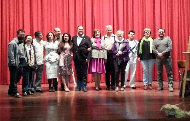 Mujeres y empresas de Totana son homenajeadas en el acto institucional celebrado con motivo del Día de la Mujer´2016, Foto 2