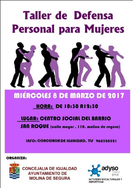 La Concejalía de Igualdad de Molina de Segura organiza la primera edición de Tu Barrio en Igualdad el miércoles 8 de marzo - 2, Foto 2