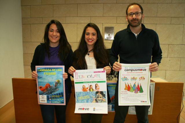 "Sports and ""MOVE"" organize the II School Aquatic Seminar on March 22 - 1"
