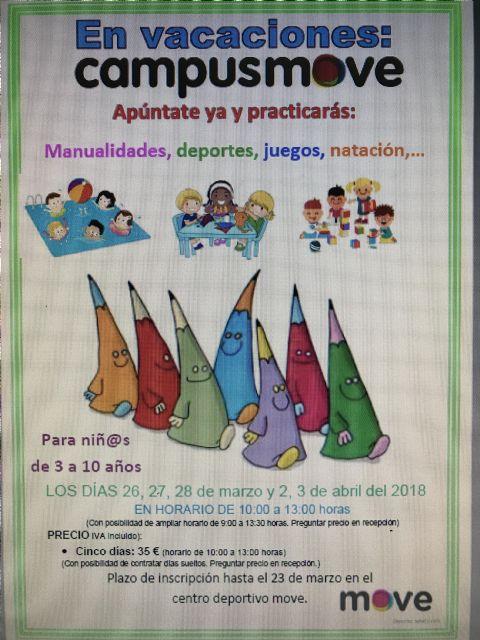 Deportes y MOVE organizan la II Jornada Acuática Escolar el próximo 22 de marzo, Foto 2