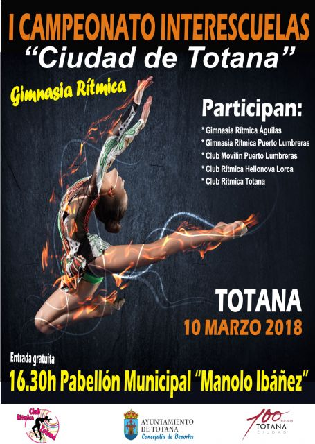 "The Sports Pavilion hosts this Saturday the I Inter-school Championship ""Ciudad de Totana"" of Rhythmic Gymnastics - 2"