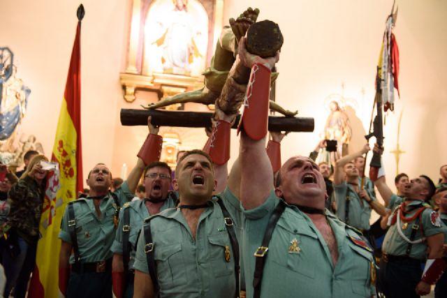 La Procesión de los Legionarios se incorpora a la programación de la Semana Santa de Puerto de Mazarrón, Foto 1