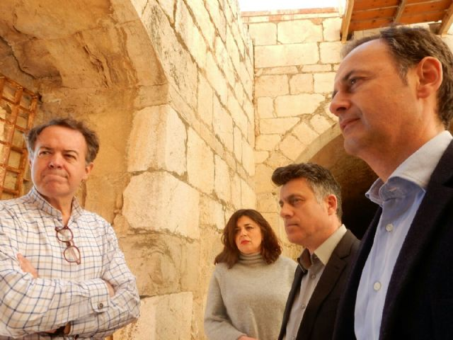 La Comunidad culmina las obras de emergencia para garantizar la seguridad en el Castillo de Mula - 1, Foto 1