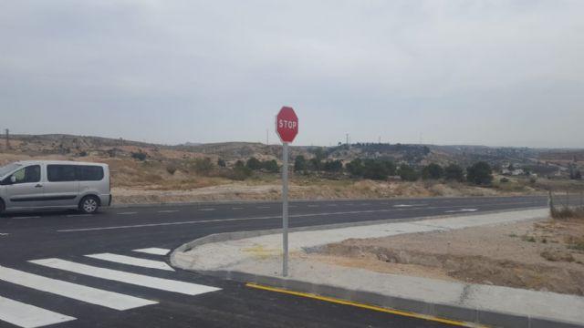 El Ayuntamiento de Molina de Segura abre al tráfico hoy el nuevo tramo de la Ronda Este, con una inversión de 127.741,68 euros - 1, Foto 1